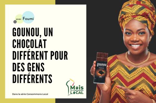 Article : Gounou, un chocolat différent pour des gens différents