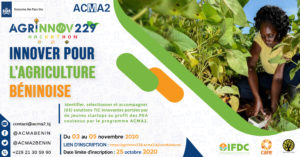 agrinnov 2020 innover pour l'agriculture béninoise