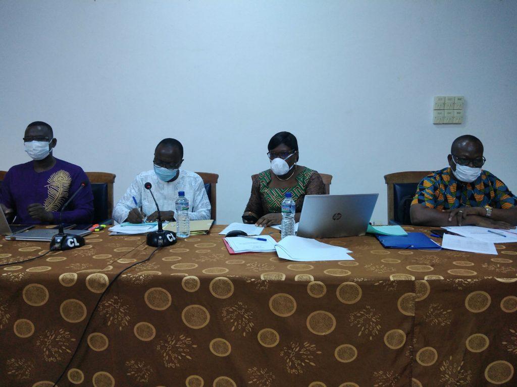 bureau du Réseau Béninois des Spécialistes de la Commande Publique