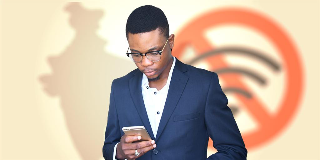 coupure d'internet en Afrique - danger