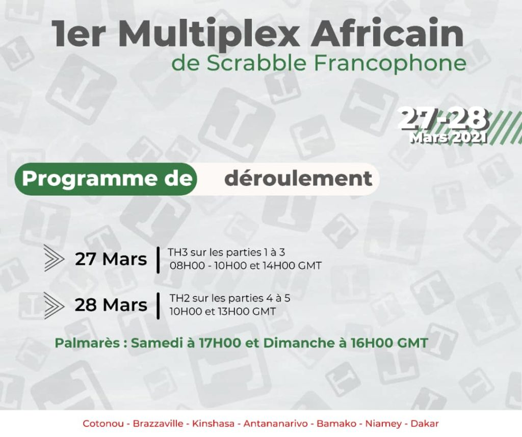 Scrabble 1er multiplex africain