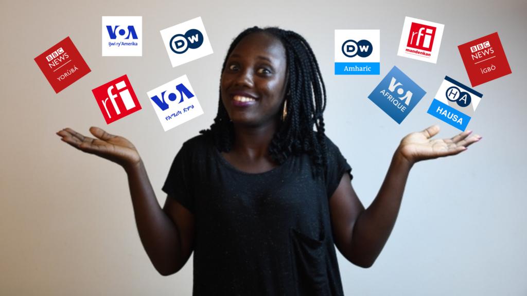 les radios internationales en langues locales africaines