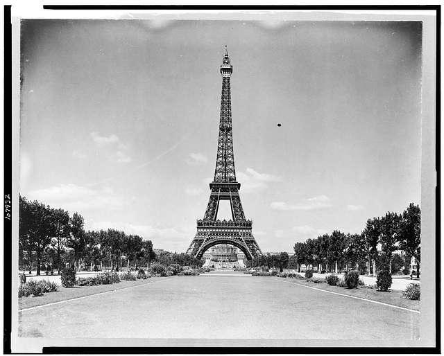 La tour Eiffel, le plus grand monument
