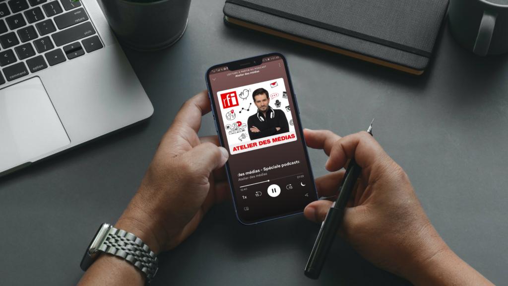 émission radio diffusée en podcast